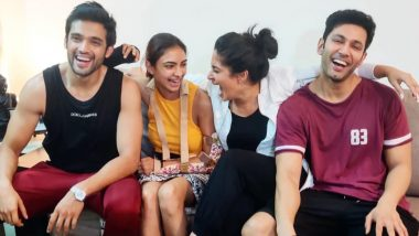 Parth Samthaan, Erica Fernandes, Pooja Banerjee, Sahil Anand and Others Celebrate One Year of Kasautii Zindagii Kay 2 (View Pics)