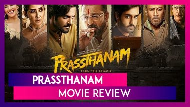 Prassthanam Movie Review: Sanjay Dutt, Ali Fazal Excel in this Political Thriller