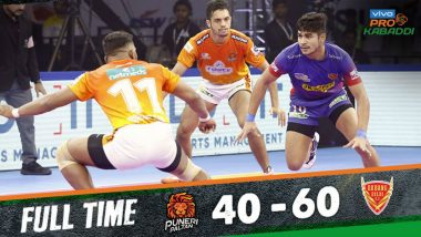 PKL 2019 Match Result: Dabang Delhi Beat Puneri Paltan 60–40 in Crucial Tie