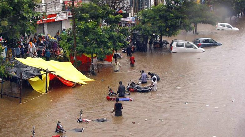Odisha Rains: 4 Dead As Heavy Rainfall Batters State, Flood-Like Situation Cripples Normal Life in Several Districts