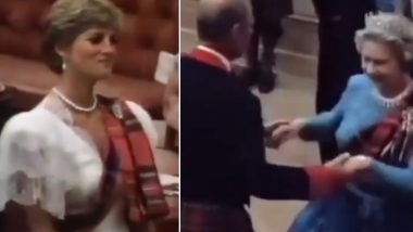 Queen Elizabeth & Princess Diana Seen Dancing at a Royal Party in This Viral Throwback Video of the Ghillies Ball at Balmoral Castle