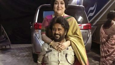 Rajinikanth Blushing With His Wife Latha On The Sets Of Darbar Is The Sweetest Thing You Will See On The Internet (See Pic)