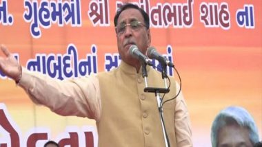 Pakistan Should Be Ready to Lose PoK, Says Gujarat CM Vijay Rupani