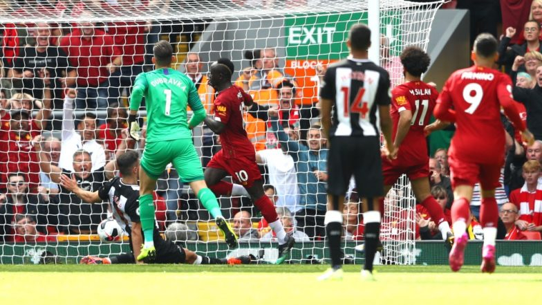 Sadio Mane Nets a Couple of Goals During Liverpool vs Newcastle City, EPL 2019-20; Netizens Hail the Forward (Watch Video)