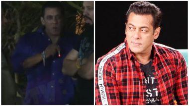 Video of Salman Khan Smoking Near Ganesh Utsav Leaves Fans Arguing (Watch)