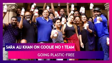 Sara Ali Khan On Coolie No 1 Team Going Plastic-Free: Little Drops Make The Mighty Ocean