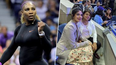 Priyanka Chopra is Glad to Watch Serena Williams' 100th US Open Win With Mom Madhu Chopra (View Pic)