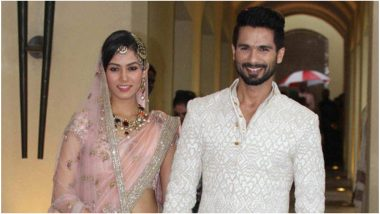 Shahid Kapoor and Mira Rajput Talk About Renewing Their Wedding Vows: 'We're Going to Do It Again'