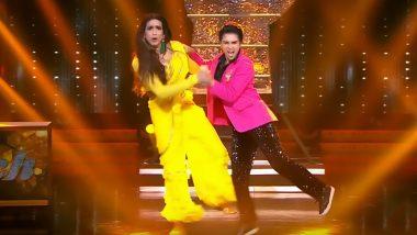 Nach Baliye 9: After Sushant Singh Rajput, Ayushmann Khurrana and Nushrat Bharucha Applaud Shantanu Maheshwari and Nityaami Shirke's Raveena Tandon - Ahmed Khan Impersonation!