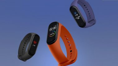Xiaomi Mi Band 4 Next Sale Date Revealed; To Be Available Online Via Flipkart, Amazon & Mi.com