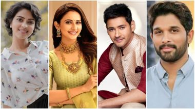 Ganesh Chaturthi 2019: Mahesh Babu, Rakul Preet Singh, Amala Paul, Allu Arjun and Other Tollywood Celebs Extend Wishes on the Festival