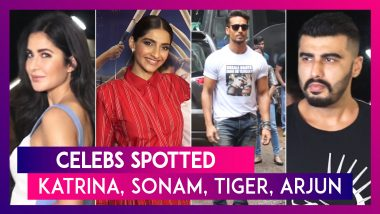 Celebs Spotted: Katrina Kaif, Sonam Kapoor, Tiger Shroff & Others Seen In The City