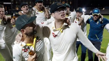 Justin Langer Defends Steve Smith's 'Classless' Celebration Post 4th Ashes 2019 Test Victory, Says 'Batsman Was Mimicking Chris Rogers Not Jack Leach'