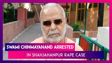 BJP's Swami Chinmayanand Arrested By UP SIT In Shahjahanpur Rape Case