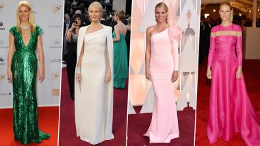 Gwyneth Paltrow Birthday Special: Taking a Look at her Amazing Red Carpet Moments that Deserve a Round of Applause (View Pics)
