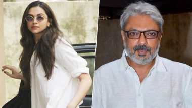 Deepika Padukone Clicked Outside Sanjay Leela Bhansali's Office, Is a 4th Movie on Cards?