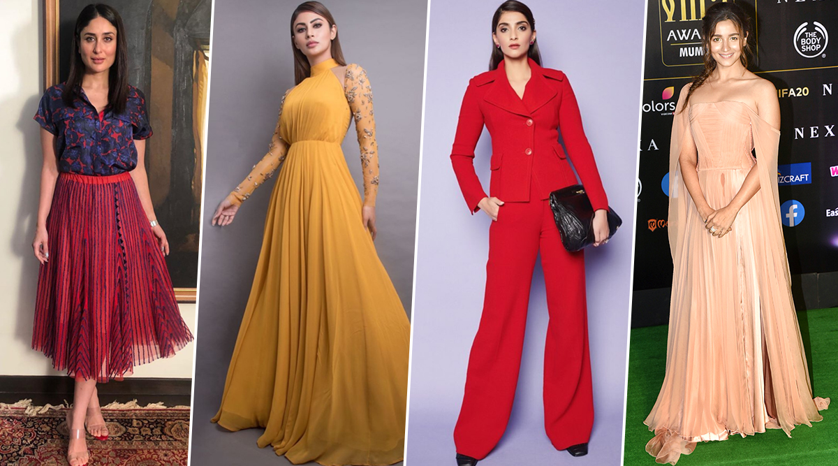 Alia Bhatt, Sonam Kapoor and Kareena Kapoor Khan's Fashion Outings Impress the Fashion Critics this Week (View Pics)