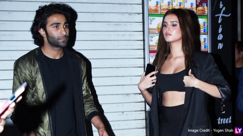 Tara Sutaria Steps Out for a Date With Rumoured Boyfriend Aadar Jain (View Pics)