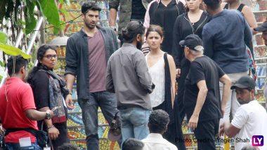 Sadak 2: Alia Bhatt and Aditya Roy Kapur Spotted Shooting in Bandra (View Pictures)