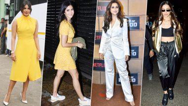 Deepika Padukone, Priyanka Chopra and Katrina Kaif Made us Fall in Love with their Fashion Outings this Week (View Pics)