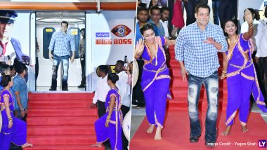 Bigg Boss 13: Salman Khan Launches the Reality Show on a Metro Station Amid Much Fanfare (View Pics)