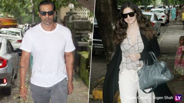 Arjun Rampal and Gabriella Demetriades Opt For a Comfortable yet Chic Outfits for a Day Out (View Pics)