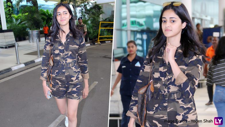 Ananya Panday Without Makeup at the Aiport Will Win Your Heart (See Pics)