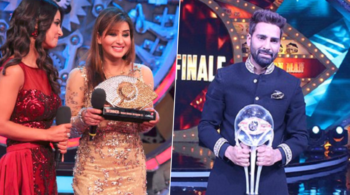 Bigg Boss 13: From Shilpa Shinde to Manveer Gurjar, Taking a Look at the Least Deserving Winners From Salman Khan's Reality Show