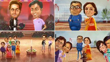 Shubh Mangal Zyada Saavdhan Teaser: Ayushmann Khurrana and Jitendra Kumar's Love Story is Happy and Gay (Watch Video)