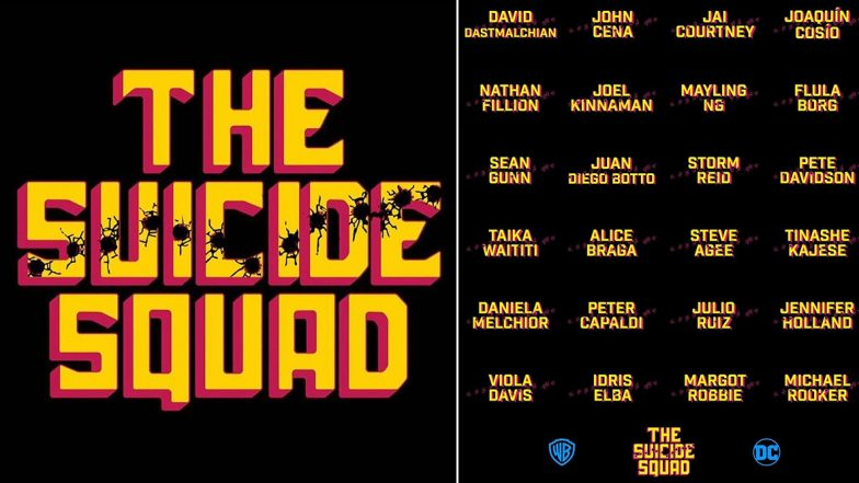 The Suicide Squad: James Gunn Unveils Complete Movie Cast, Fans Quickly Question Jared Leto and Will Smith's Absence!