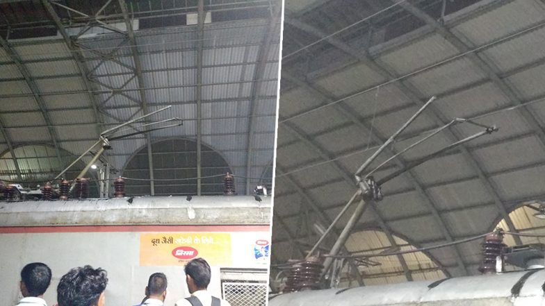 Mumbai: Local Train Services Disrupted on Trans-Harbour Line After Pantograph Break at Koparkhairane Station