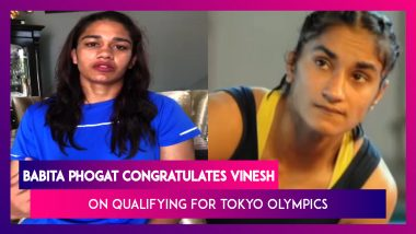 Wrestler Babita Phogat Congratulates Sister Vinesh On Qualifying For Tokyo Olympics