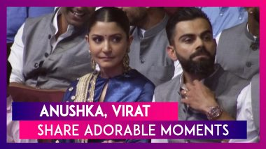 Anushka Sharma, Virat Kohli Steal Romantic Moments At An Event In Delhi