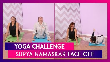 Yoga Challenge: The Ultimate Surya Namaskar Face Off In Office
