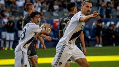 Zlatan Ibrahimovic's 29th Goal For LA Galaxy in Lost Cause, MLS Side Goes Down to Vancouver Whitecaps 3-4 (Watch Video)