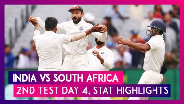 India vs South Africa Stat Highlights, 2nd Test 2019 Day 4: Hosts Seal Series With Innings Victory