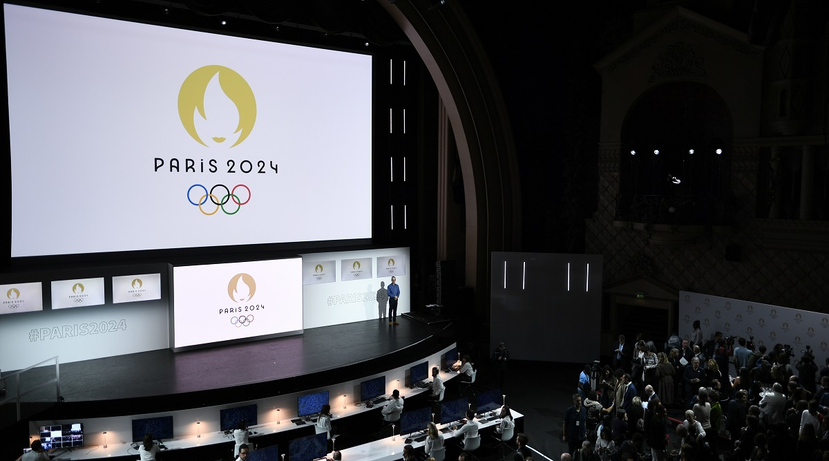 Paris 2024 Olympics Logo Revealed: Golden Marianne to Replace Colourful Eiffel Tower Emblem; See Pics