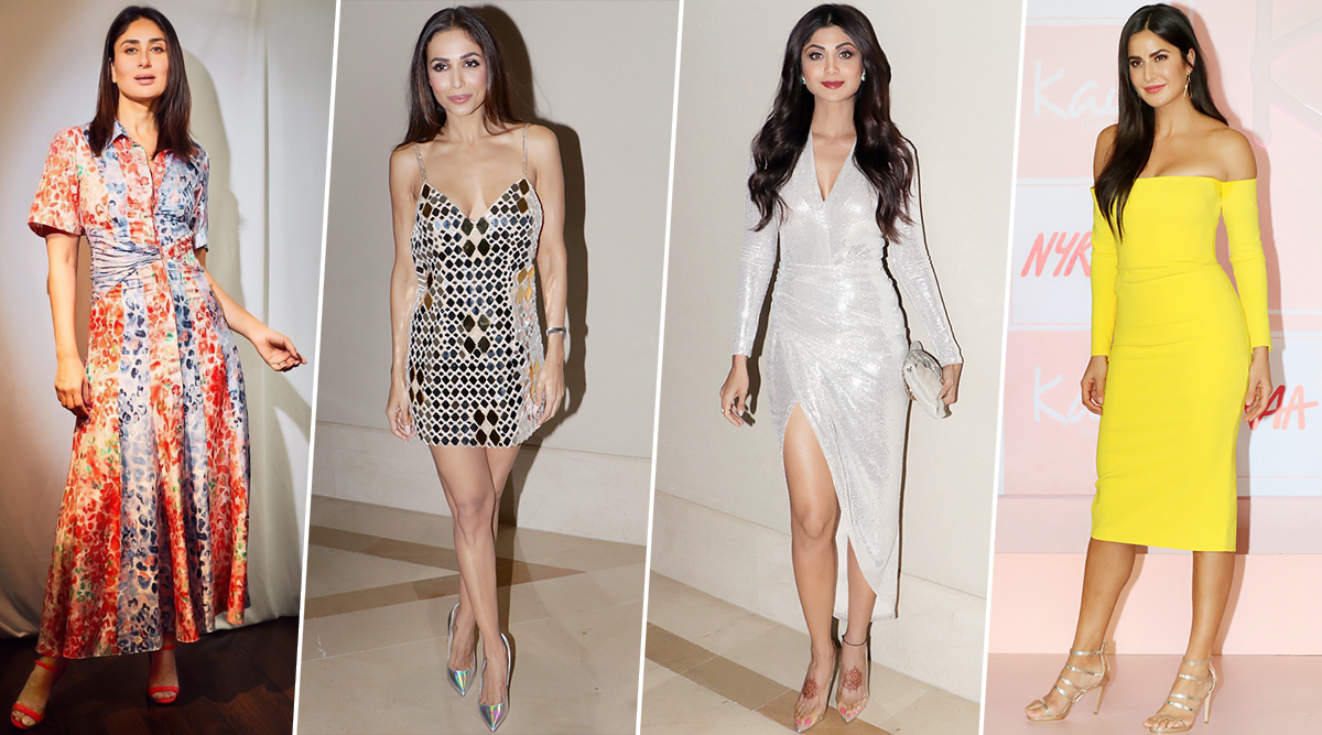 Katrina Kaif, Kareena Kapoor Khan and Malaika Arora are our Fashion Inspirations of this Week (View Pics)