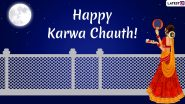 Karwa Chauth 2019 Wishes After Moon Sighting: WhatsApp Stickers, Chand GIF Images, Greetings, Quotes, SMS, Facebook, Whatsapp Status for Karva Chauth Festival