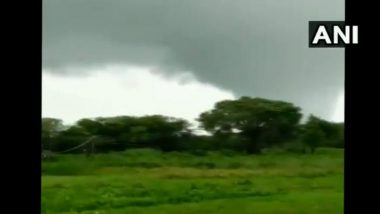 Tornado-Like Cloud Formation in Gujarat's Sabarkantha District Leaves Several Farms Damaged, Watch Video