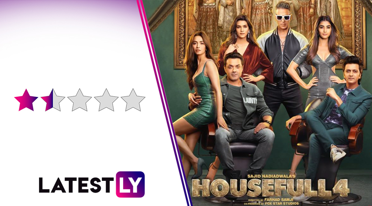 Housefull 4 Movie Review: A Funny Akshay Kumar Owns the House in This Lowbrow, Regressive Comedy