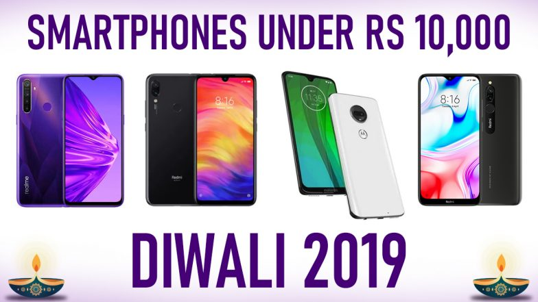 2019 Diwali Offers on Phones: Best Smartphones Under Rs 10,000 To Buy; Realme 5, Xiaomi Redmi Note 7S, Redmi 8, Moto G7 & Other Mobiles