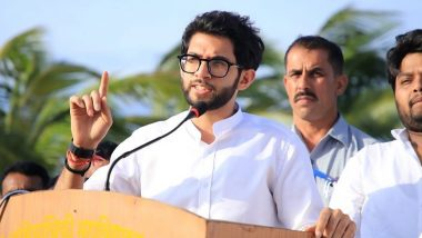 Aaditya Thackeray Mentions His Name as 'Aaditya Rashmi Uddhav Thackeray' During Floor Test in Maharashtra Assembly