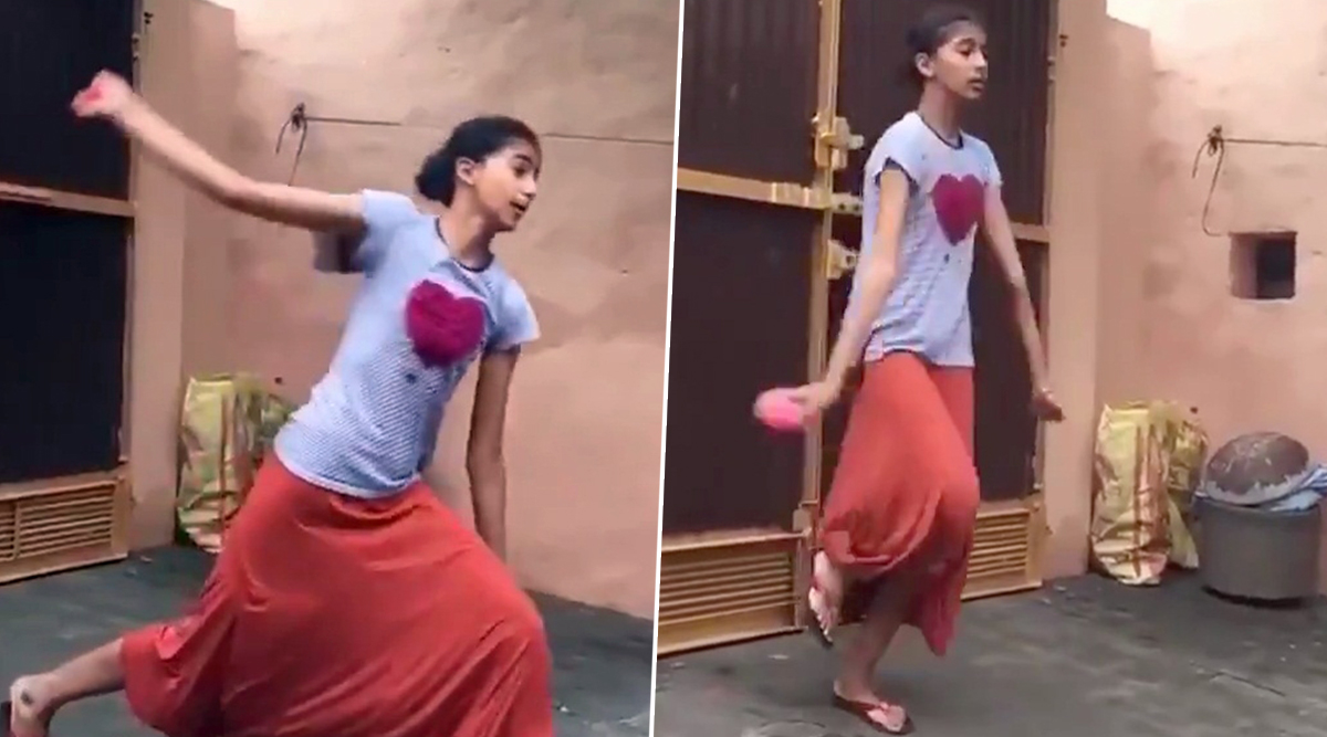 Girl Imitates Harbhajan Singh's Bowling Action, Watch Video of 'Bhajji 2.0' Going Viral on Social Media