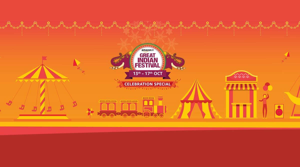 Amazon Great Indian Festival Sale 2019 To Start on October 13; Discounts on Smartphones, TVs, Electronics & More