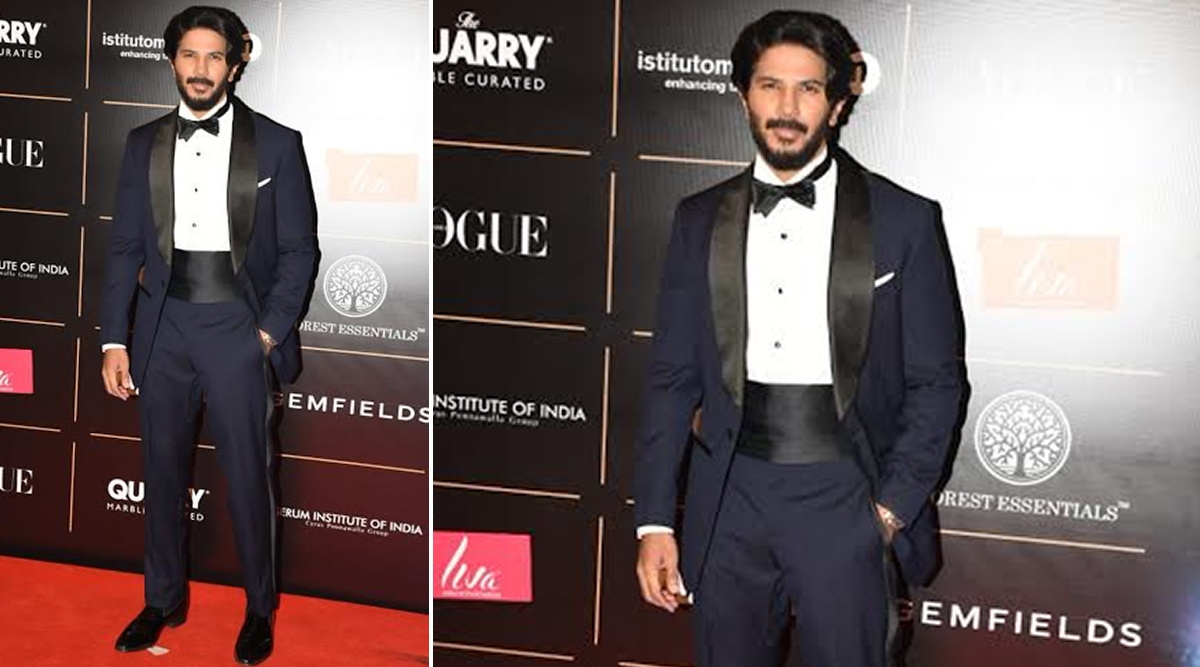 Dulquer Salmaan at at Vogue Women of the Year. (Photo CreditslYogen Shah)