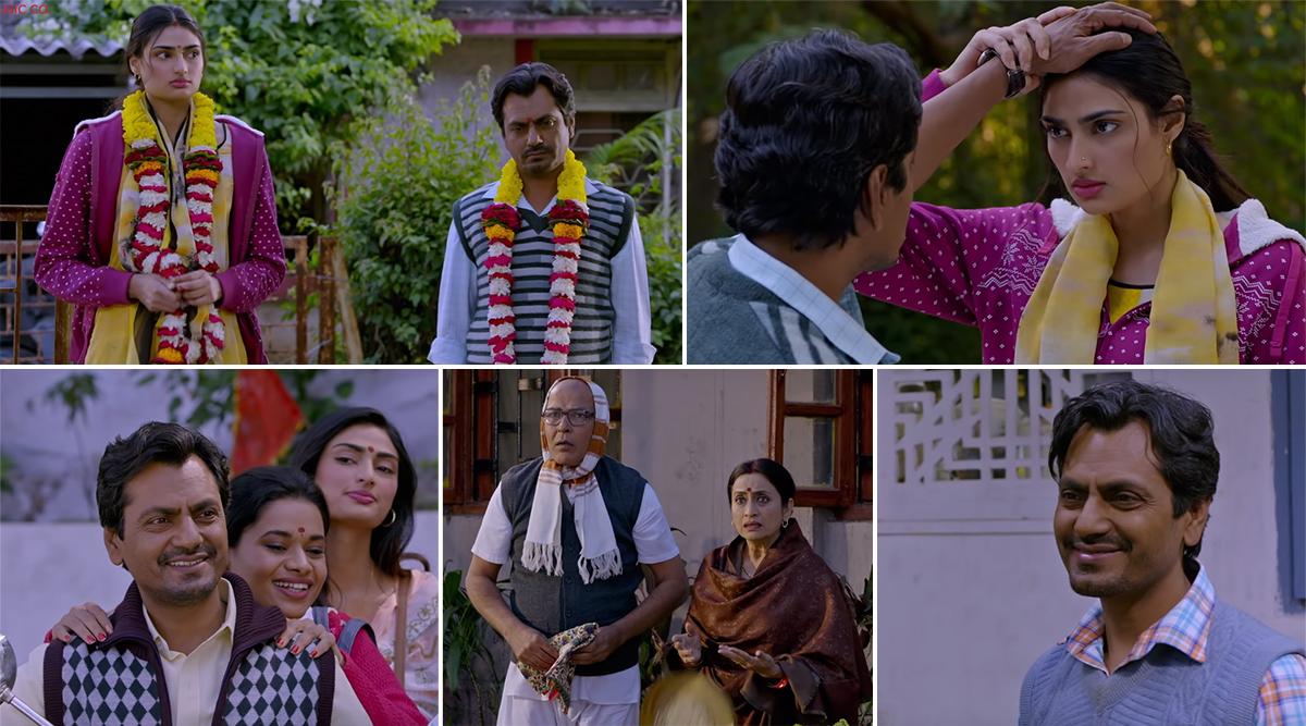 Crazy Lagdi Song from Motichoor Chaknachoor: Nawazuddin Siddiqui's Romeo is Trying Hard to Woo Athiya Shetty's Juliet (Watch Video)