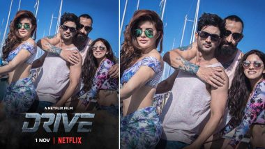 Drive Release Date: Sushant Singh Rajput and Jacqueline Fernandez Starrer Action-Heist Film to Stream on Netflix from November 1