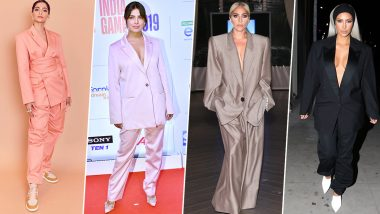 Priyanka Chopra's Recent Fashion Outing at NBA India Games 2019 Looks Inspired by Lady Gaga, Kim Kardashian and Sonam Kapoor (View Pics)
