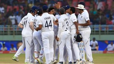 India vs South Africa 1st Test 2019, Day 4 Match Report: SA Lose Dean Elgar's Wicket After India Set 395 for Victory